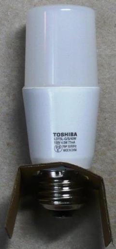"Thumbnail of ""LED電球 規格:LDT5L-G/S/40W(電球色) E26口金 2個セット"""