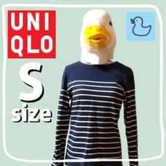 """Thumbnail of """"UNIQLO ウォッシュボーダーボートネックT"""""""