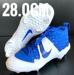 "Thumbnail of ""ナイキ/NIKE 野球 スパイク シューズ メンズ ブルー ホワイト青白28.0"""