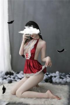 """Thumbnail of """"231 赤 メイド服 コスチューム コスプレ衣装 レディース 透け 誘惑透視 過"""""""
