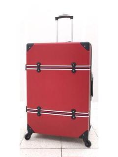 "Thumbnail of ""大型軽量スーツケース キャリーバッグ TSAロック付き Lサイズ 赤"""