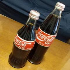 """Thumbnail of """"コカ・コーラ 350ml 500ml ガラス瓶 2本セット"""""""