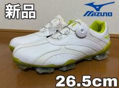 "Thumbnail of ""【新品】ミズノ ゴルフシューズ VALOUR 001 Boa 26.5cm"""