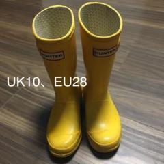 "Thumbnail of ""HUNTER  長靴 レインブーツ キッズ UK10、EU28"""