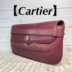 """Thumbnail of """"【Cartier】クラッチバッグ マストライン ボルドー ゴールド金具"""""""