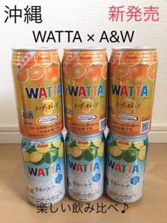 "Thumbnail of ""沖縄 オリオン WATTA A&W ワッタ エンダーオレンジ 雪塩シークヮーサー"""