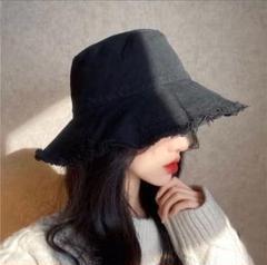 """Thumbnail of """"フリンジハット 韓国ファッション 帽子 シンプル 小顔 ベージュ"""""""