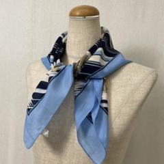 "Thumbnail of ""SS157 used italy vintage スカーフ 柄物 イタリア製"""