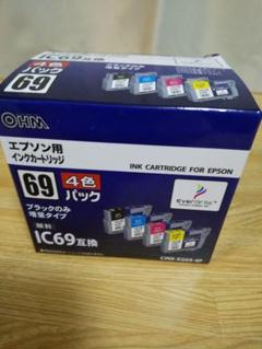 "Thumbnail of ""エプソン用インクカートリッジIC69互換(4色パック)"""