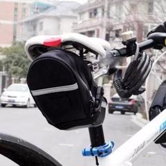 """Thumbnail of """"【新品】サドルポーチ 自転車 サイクリング ブラック アウトドア コンパクト"""""""
