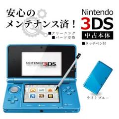 "Thumbnail of ""安心の整備済み!◆任天堂3DS 中古本体◆ライトブルー◆38"""