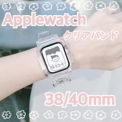 "Thumbnail of ""Applewatchカバー 韓国 透明 クリアバンド"""