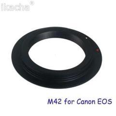 """Thumbnail of """"Canon レンズ アダプター M42 マウント オールドレンズ"""""""
