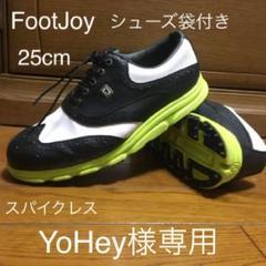 """Thumbnail of """"美品 FootJoy フットジョイ スパイクレスゴルフシューズ 25cm"""""""