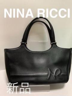 """Thumbnail of """"NINA RICCI ニナリッチ 本革 黒 ハンドバック"""""""