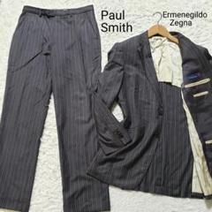 "Thumbnail of ""Paul Smith ErmenegildoZegna お洒落スーツ L グレー"""
