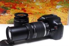 "Thumbnail of ""Canon EOS KISS X50 W ダブル レンズ 望遠 初心者 オススメ"""