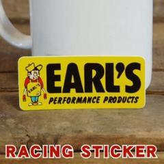 """Thumbnail of """"EARL'S ロゴ レーシング ステッカー ◆ アールズ"""""""