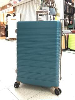 "Thumbnail of ""大型軽量スーツケース 8輪キャリーバッグ TSAロック付き Lサイズ ブルー"""