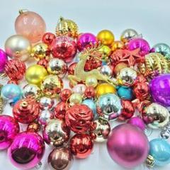 "Thumbnail of ""【新品】超お得!クリスマス オーナメント 豪華 70個セット クリスマスツリー"""