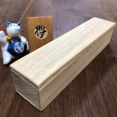 "Thumbnail of ""楠の木箱 ハンドメイド 未塗装 小物入れ ケース アクセサリーケース 木箱"""