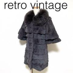 "Thumbnail of ""Y142*Vintage 個性派 ファーコート チャコールグレー M"""