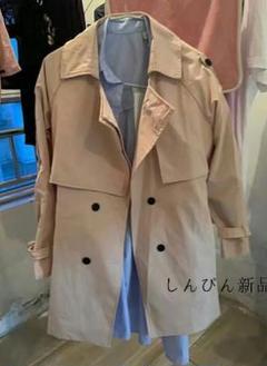 """Thumbnail of """"韓国版ゆったりした学生の短いカーキ色の中の長い上着春秋n"""""""
