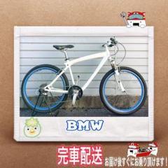 """Thumbnail of """"マウンテンバイク BMW ホワイト 26インチ"""""""