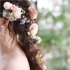 "Thumbnail of ""小枝アクセサリー ヘアアクセサリー 結婚式 ウェディング 二次会 卒業式"""