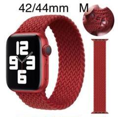"Thumbnail of ""Apple Watch 交換用バンド  42/44mm M レッド"""