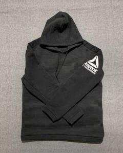 "Thumbnail of ""リーボック フリースフーディー(ブラック)&Tシャツ(ネイビー)/【XOサイズ】"""