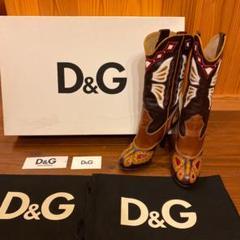 "Thumbnail of ""D&G ウエスタンブーツ"""