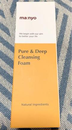 """Thumbnail of """"manyo 魔女工場 pure &deep cleansing foam"""""""