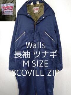 "Thumbnail of ""M Walls ウォールズ 長袖 オールインワン ツナギ ネイビー 紺色"""