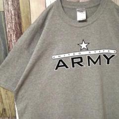 "Thumbnail of ""USA古着 JERZEES ビッグシルエット デザインTシャツ ARMY"""