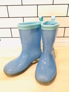 "Thumbnail of ""長靴 レインブーツ ELFINDOLL 水色ラメ 16.0cm"""