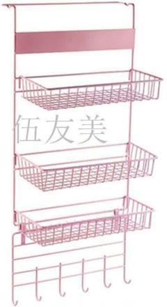 "Thumbnail of ""吊り下げ収納ラック 粘着式 壁掛けラック 冷蔵庫サイドラック キッチンラック1"""
