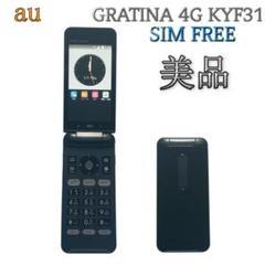 "Thumbnail of ""SIMフリー GRATINA 4G KYF31【au 京セラ】ブラック G100"""