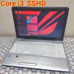 "Thumbnail of ""TOSHIBA シルバー Core i3 ノートパソコン 本体 SSHD"""