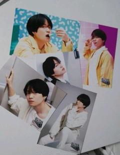 "Thumbnail of ""菊池風磨 POP×STEP!? TOUR 2020 ツアーグッズ 写真5枚セット"""