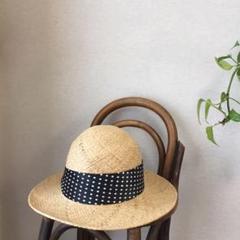 "Thumbnail of ""自然素材の帽子  サイズ 58位  日本製"""