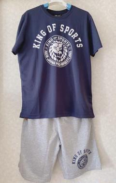 """Thumbnail of """"しまむら 新日本プロレス Tシャツ ハーフパンツ Mサイズ"""""""