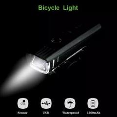 "Thumbnail of ""自転車 ライト LED 自動点灯 充電式  防水 簡単設置 アウトドア _"""
