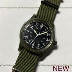 """Thumbnail of """"オリーブカラー◇OLIVEカラー♪腕時計,ミリタリーウォッチ型シンプルデザイン"""""""