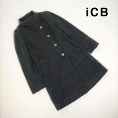 """Thumbnail of """"iCB アイシービー 9 コート ブラック ハイネック アウター ロング 羊毛"""""""