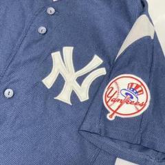 """Thumbnail of """"ニューヨークヤンキース ゲームシャツ ユニフォーム Lサイズ マジェスティック"""""""