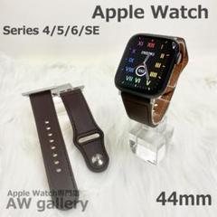 "Thumbnail of ""Apple Watch 5 レザー 本体 44 ベルト ダークブラウン"""