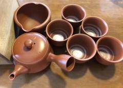 """Thumbnail of """"【未使用】茶器 松風造り 煎茶道具 骨董品 和食器"""""""