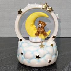 "Thumbnail of ""陶器製 オルゴール 三日月に座って星を釣る"""