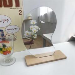 "Thumbnail of ""ビーンズミラー 韓国風 インテリア 雑貨 壁掛け おしゃれ かわいい"""